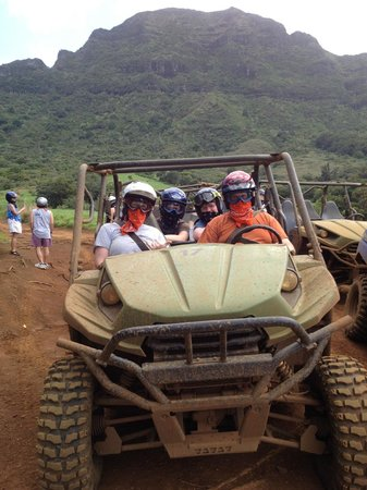 Kipu Ranch Adventures : Kauai fun in the mud!