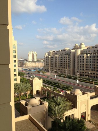 Fairmont The Palm, Dubai: From the room, looking to the left
