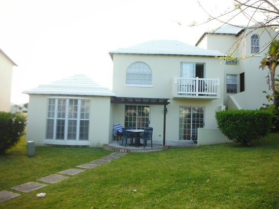 The St. George's Club: Rear View of My 2-Bdrm Cottage