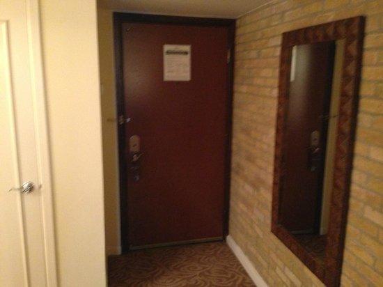 Omni La Mansion del Rio : Brick wall inside the room