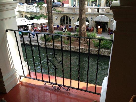 Omni La Mansion del Rio : View from patio on second floor