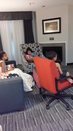 Homewood Suites by Hilton Savannah: Living area