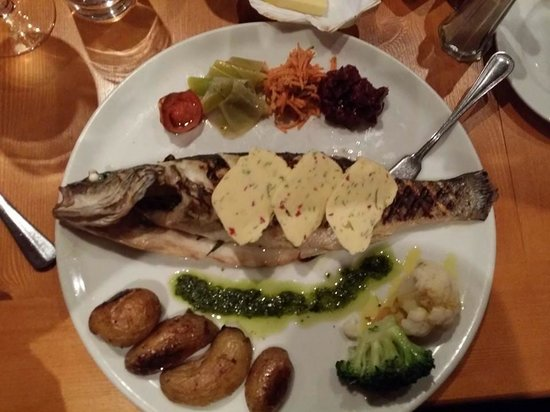 Out of the Blue Seafood: Seabass