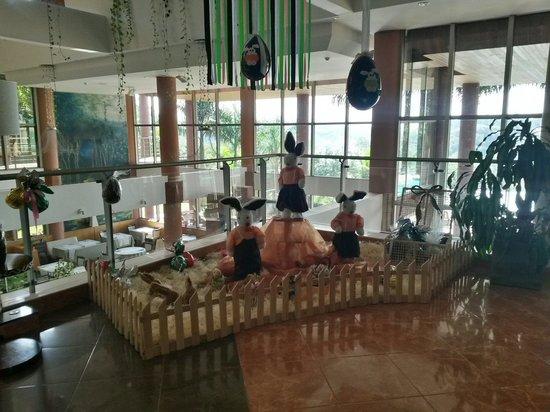 Amerian Portal del Iguazu : Hotel decorado para Psscuas