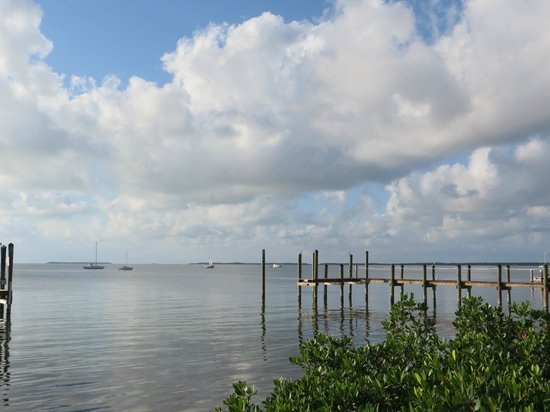 Bayside Grille & Sunset Bar : View from the beach