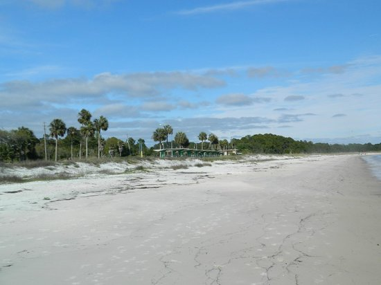 Carrabelle Beach, an RVC Outdoor Destination: Beach across from resort