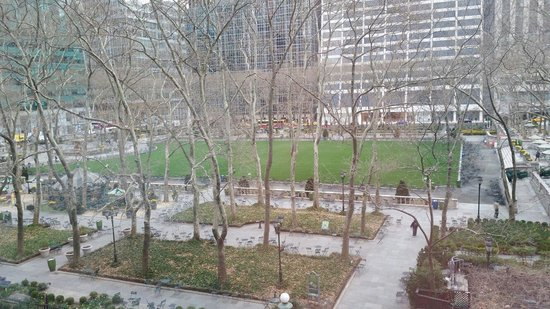 The Bryant Park Hotel: View from 508