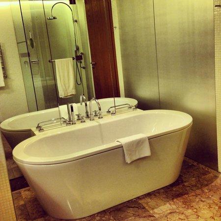 Swissotel Krasnye Holmy Moscow: Ванная в номере стандарт