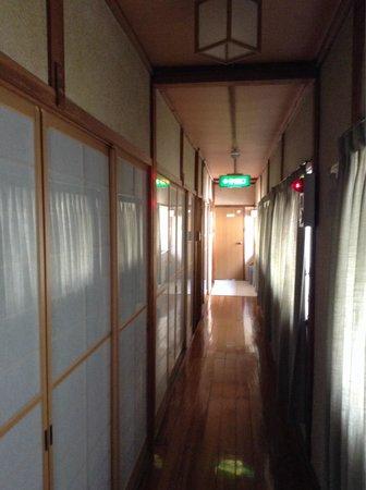 Chizuru Ryokan : Hallway