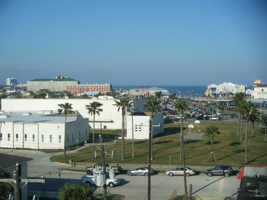 Country Inn & Suites By Carlson, Galveston Beach: View from our room on the 5th floor