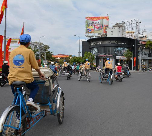 Ann Tours : Exciting cyclo ride