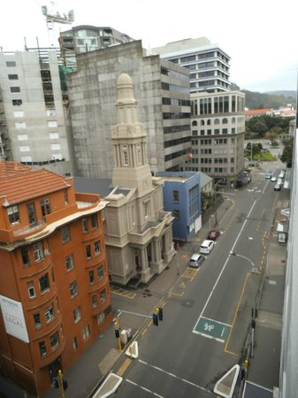 Quest on Lambton Serviced Apartments: View from the deck