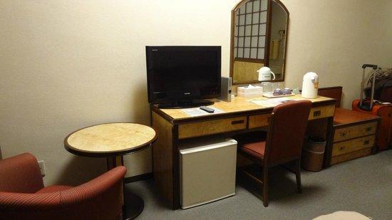 Narita View Hotel: desk
