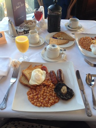 The Atlantic Hotel : Yummy breakfast :)