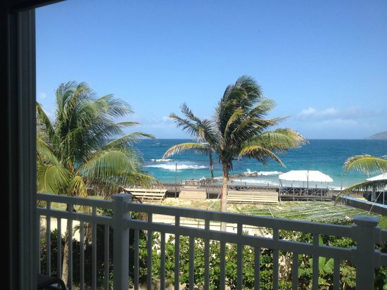Marriott's St. Kitts Beach Club: View from balcony