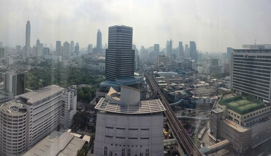 Mercure Bangkok Siam: Siam square from our 17th floor room