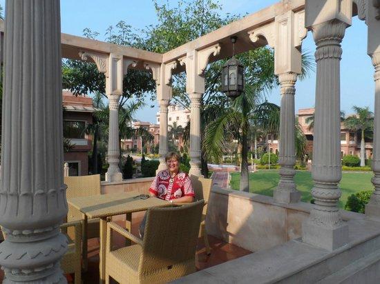 Orient Taj : área da piscina