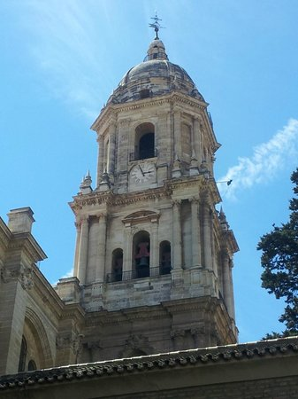 Malaga Cathedral : Campanile
