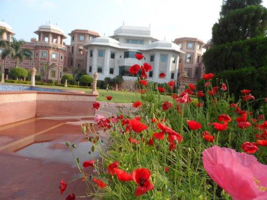Wyndham Grand: jardins