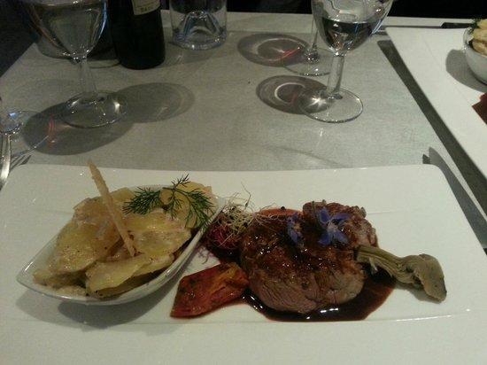 Les Saveurs de Provence : Filet de boeuf et gratin de pommes de terre