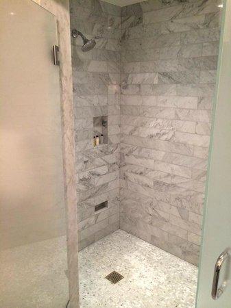 Waldorf Astoria Chicago: Luxury Suite Shower