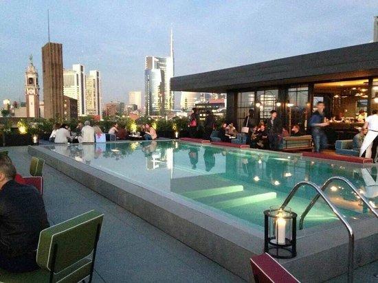 Aperitivo - Picture of Ceresio 7 Pools & Restaurant, Milan ...