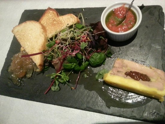 Les Saveurs de Provence : Pressé de foie gras de canard maison