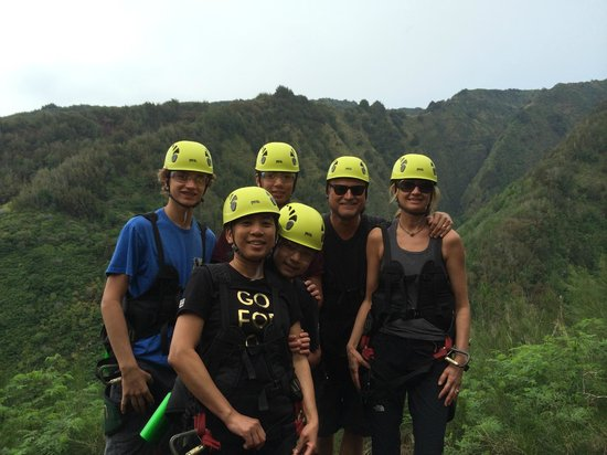 Flyin Hawaiian Zipline : Bridges+Wains