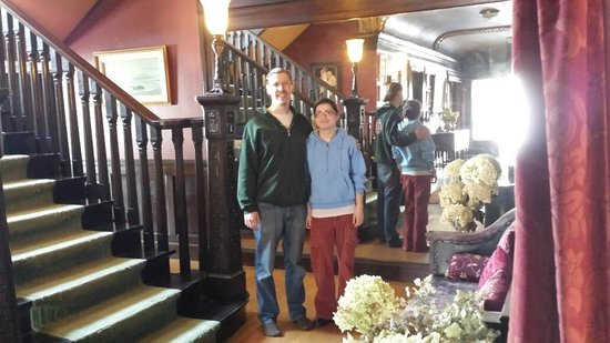 Laurium Manor Inn : our innkeepers