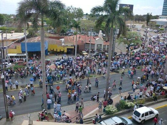 Hilton Princess Managua: Via crucis desde la habitación