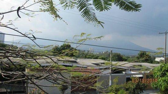 Arbol de Fuego Eco-Hotel: View from a second floor veranda