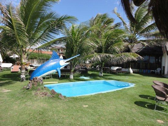Tabatinga, AM: Uma das piscinas da pousada