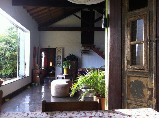 Casa da Carmen e do Fernando: Veranda