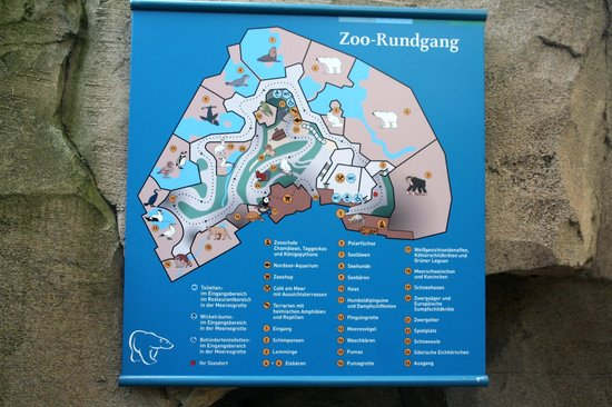 Plan Picture of Zoo am Meer Bremerhaven TripAdvisor