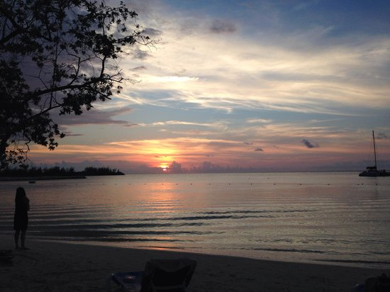 Hotel Riu Montego Bay : Always a gorgeous sunset