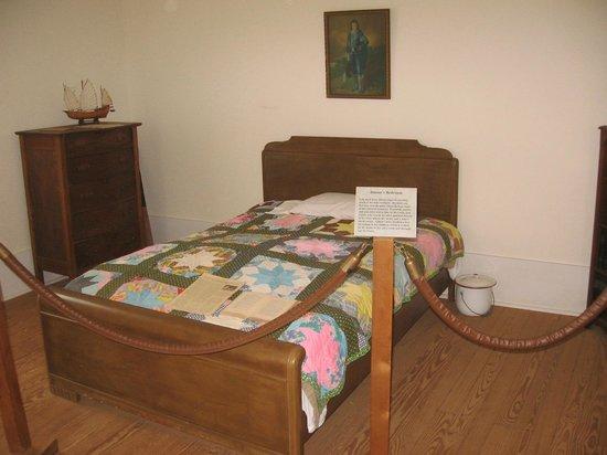 Georgia Visitor Information Center - Plains: Jimmy Carter bedroom in boyhood home, Plains GA