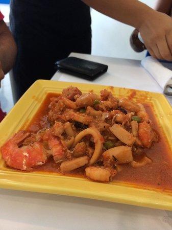 Restaurante Capitan Mandy : Prato da casa