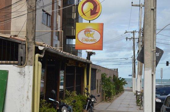 O Peixarao: Frente do restaurante