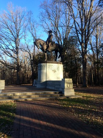 Guilford Courthouse National Military Park: Nathaniel Greene monument