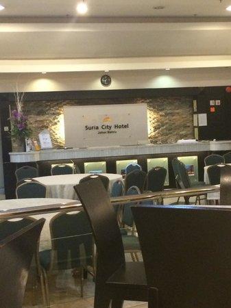 Suria City Hotel Johor Bahru: Restaurant
