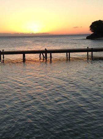 Luxury Bahia Principe Cayo Levantado Don Pablo Collection : Sunset taken from hotel dock