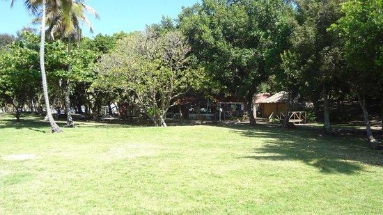 Luxury Bahia Principe Cayo Levantado Don Pablo Collection: Vender area on the way to public beach