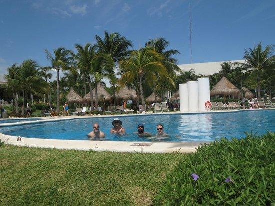 The Grand Mayan Riviera Maya: pool party