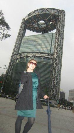 Jogyesa Temple: find jongno tower