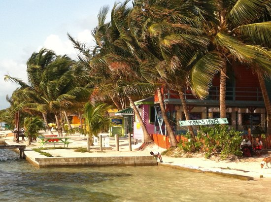 Yuma's House Belize: View from the dock