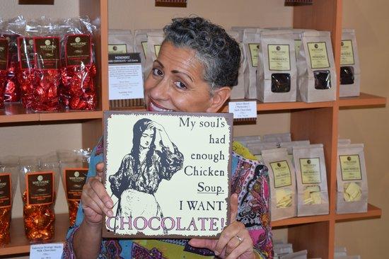Whetstone Chocolates : Millicent love Whetstone chocolate!