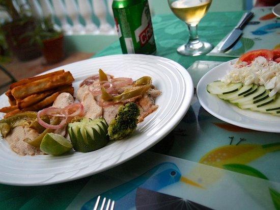 Hostal Casa di  Elio Ramos: dinner