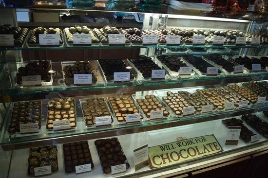 Whetstone Chocolates : Plenty to choose from
