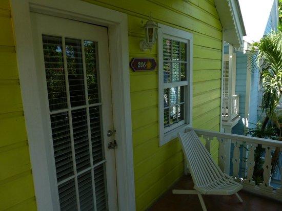 Ramon's Village Resort: balcony of Belizean Princess