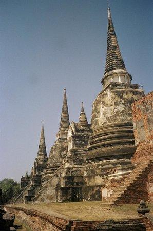 Ayutthaya Ruins : Chedi's at Wat Phra Sri Sanphet